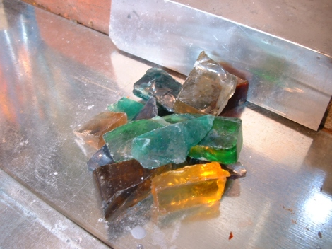 Glass Chunks