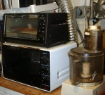 Polymer ovens and food processor