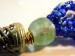 Krobo (recycled glass) bead