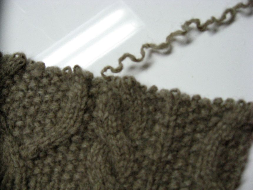 Unraveling Sweater