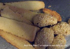 biscotti sesame seed cookies