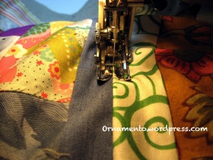 Stitching in the ditch 1