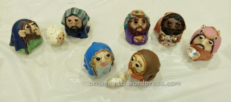 Patty Pickup Nativity Scene