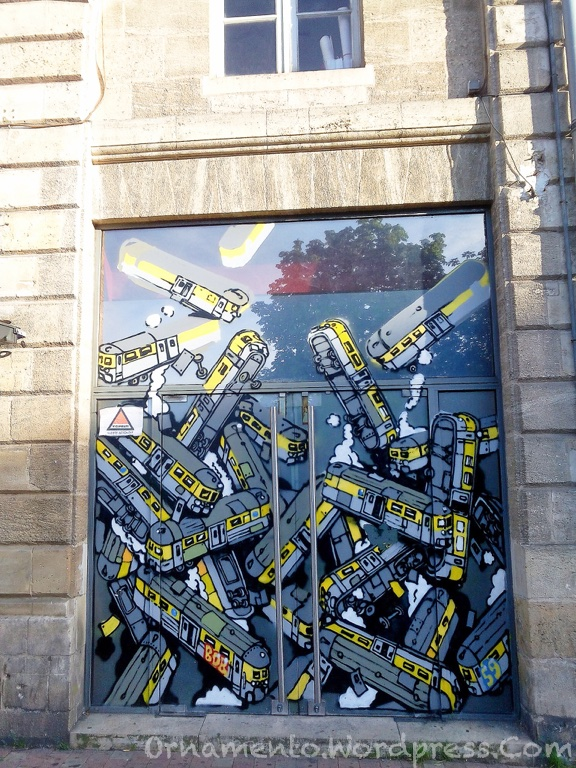 1.Bordeaux Graffiti PP 1