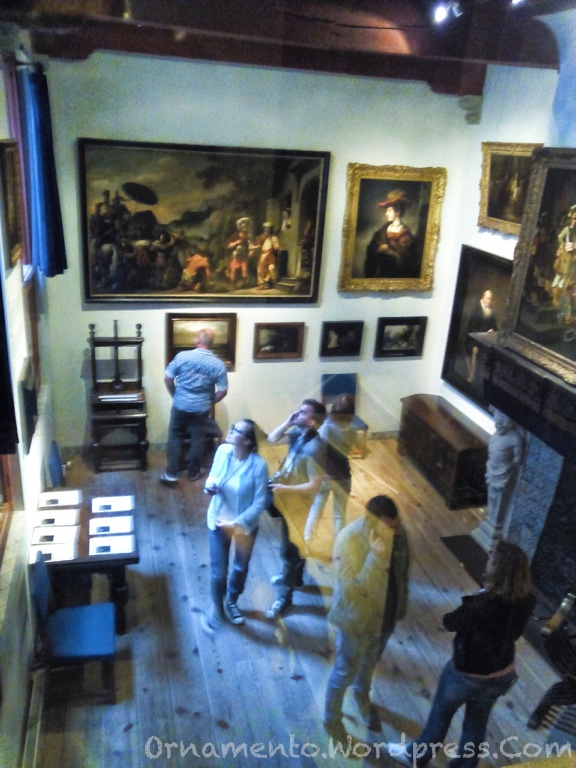 21.Rembrandt Huis display