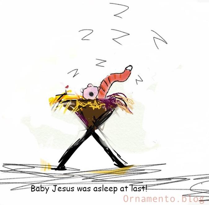 BabyJeseswas asleepatlast
