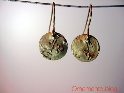 earrings unlit gimped
